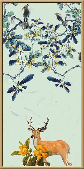 室内花鸟装饰画