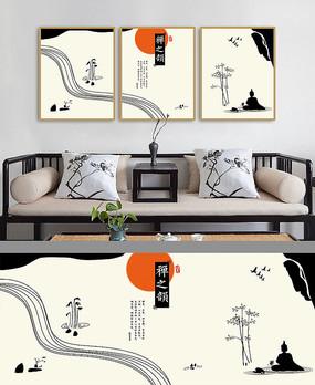 禅意室内装饰画