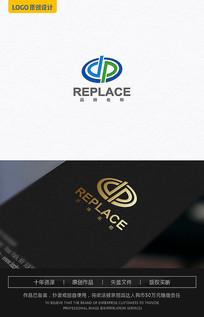 DP字母能源logo AI