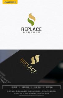 S字母logo设计 AI
