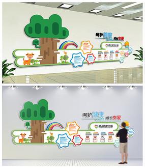 幼儿园卡通文化墙 校园浮雕文化墙 学校文化墙学习园地展板  幼儿园
