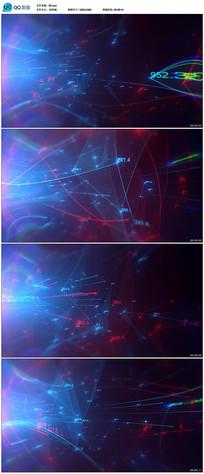 科技感数字光束背景视频