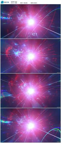 数字光线科技背景素材