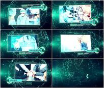 plexus科技展示AE模板