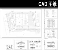 汽车展厅施工图