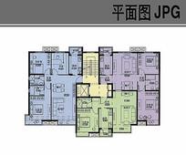 小高层楼房平面布局图 JPG