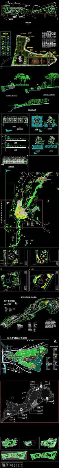 小区规划CAD图  dwg