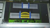 小区铁艺大门CAD设计图 CAD