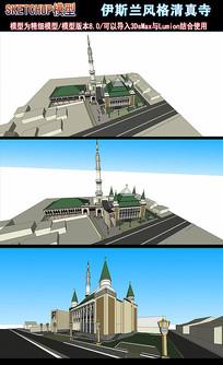 伊斯兰风格清真寺 skp