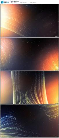 大气粒子颁奖晚会背景视频