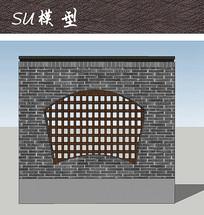 镂空装饰围墙