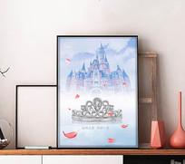 梦幻珠宝海报设计