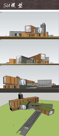 艺术文化馆建筑