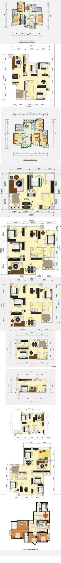 房地产彩平户型