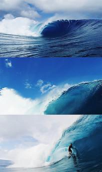 海洋海浪冲浪视频