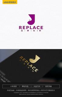 化妆品美容logo设计 AI
