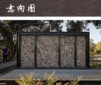 生态材料装饰景墙
