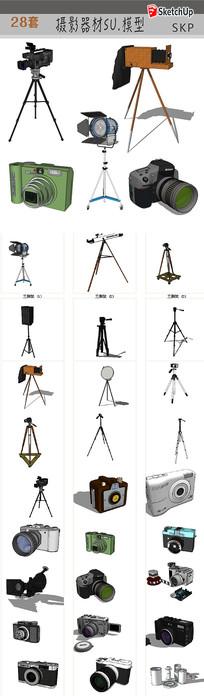 摄影器材模型