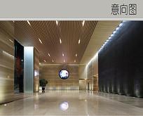 办公楼大厅装修设计