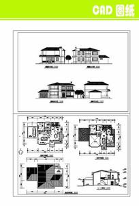 别墅建筑CAD