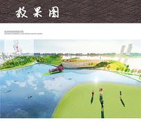 湖水公园效果图