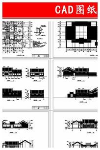 经典四合院CAD图