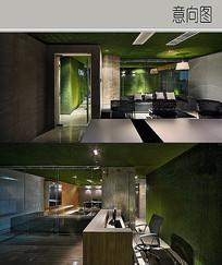 绿野仙踪风格公司装修设计