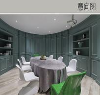 欧式会议室装修设计