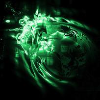 矢量绿色炫酷