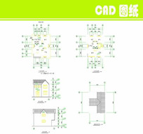 双层管理房CAD图纸