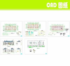 私家别墅建筑施工图