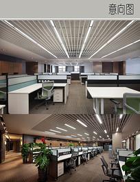 现代办公室装修设计