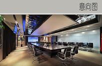 现代经典会议室装修