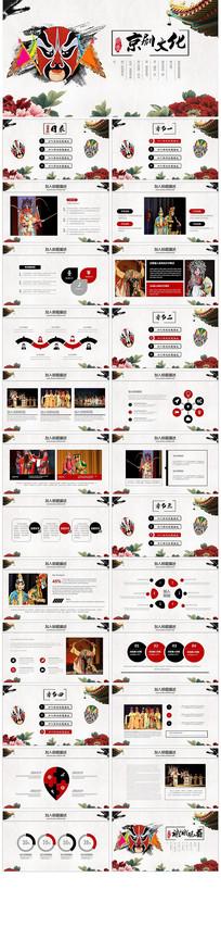 中国经典京剧文化PPT模板