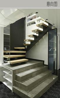 创意楼梯设计 JPG