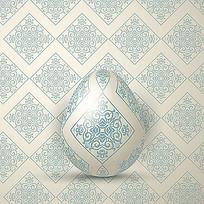 鸡蛋包装设计底纹素材