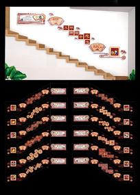 校园楼梯传统文化全套雕刻