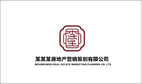 中国风logo设计 AI