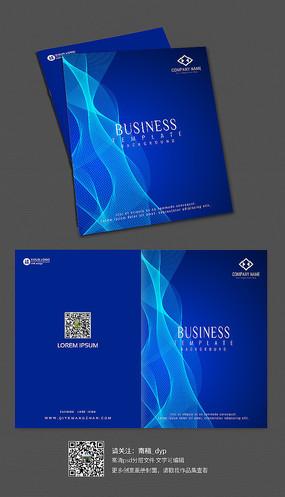 简洁时尚风格企业画册封面设计