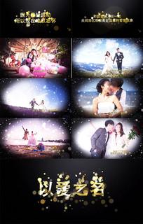 浪漫金色婚礼AE模板