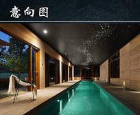 室内星空游泳池