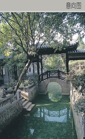 石质木质组合桥梁