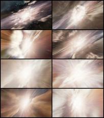 太空宇宙穿梭视频素材