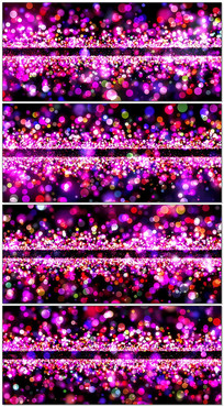 唯美粒子光斑空间舞台背景