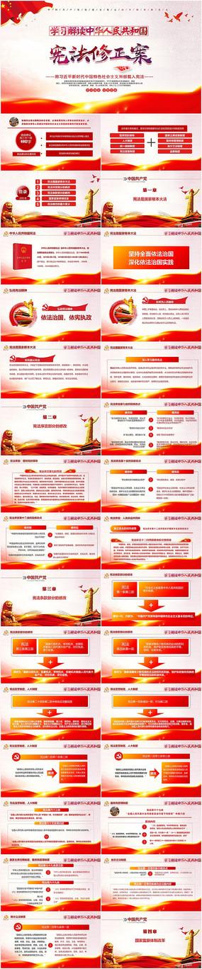 宪法修正案学习新宪法PPT