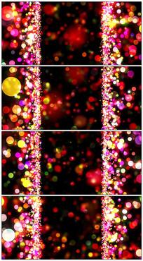 粒子光斑婚礼主题LED背景 mp4