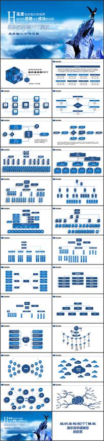 组织架构图PPT模板