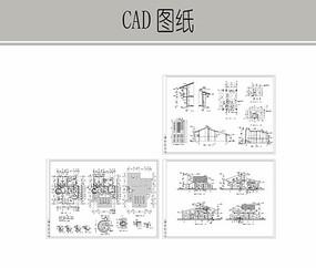 藏式别墅施工图