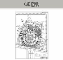 城市广场景观设计 CAD