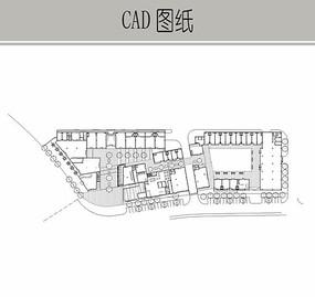 城市花园建筑平面图 CAD